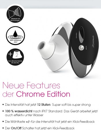 Womanizer black chrome